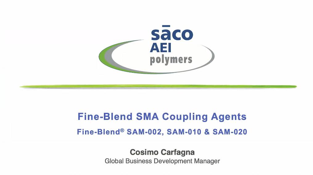 Fine-Blend SMA Coupling Agents