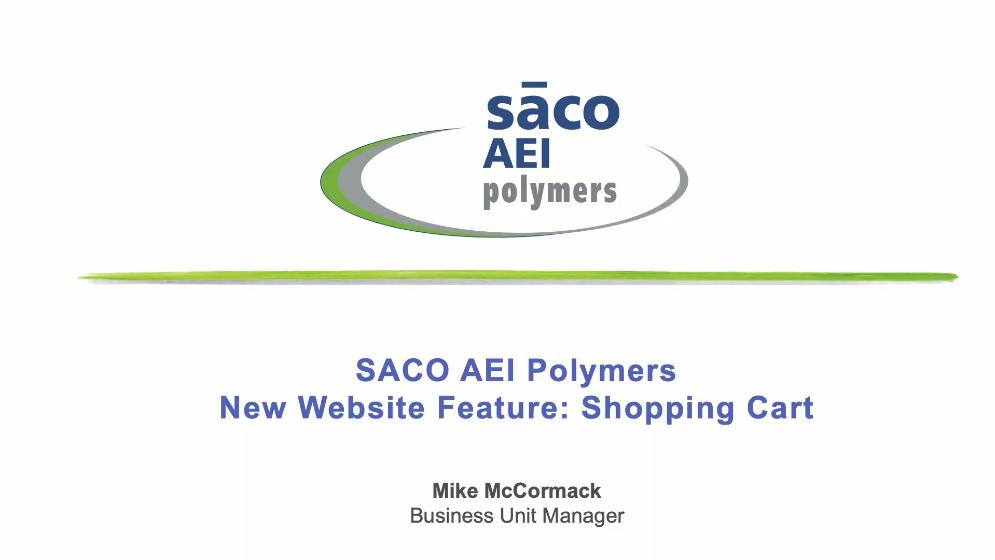 New Website Feature: Shopping Cart