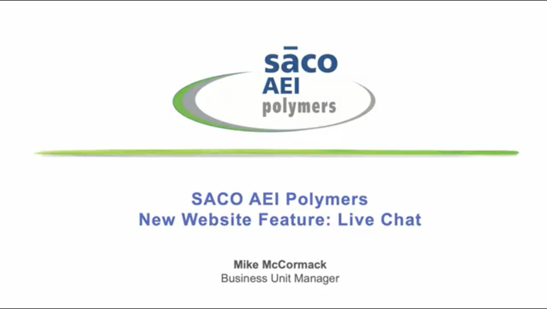 New Website Feature: Live Chat