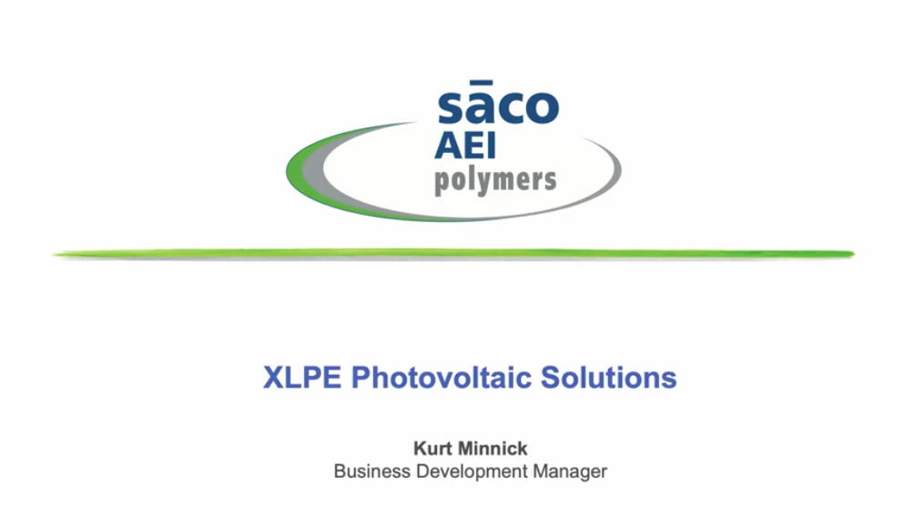 XLPE Photovoltaic Solutions
