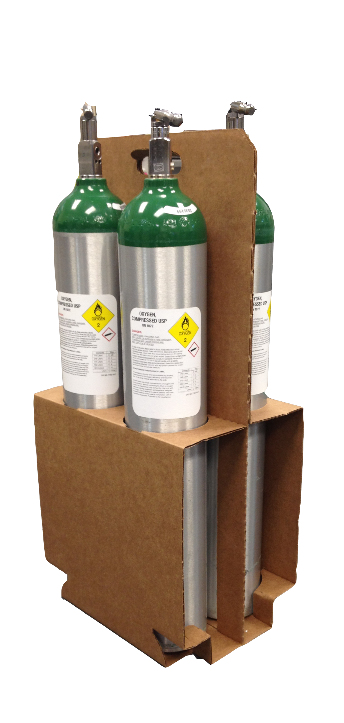 1170-0158-1 Cylinder Carrier Box