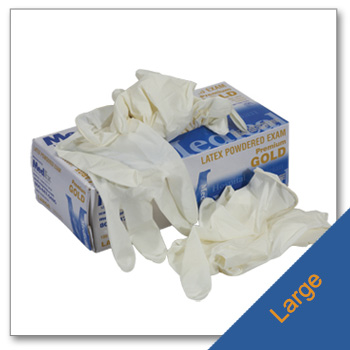 Latex Gloves Size Large