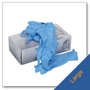 Nitrile Gloves Size Large
