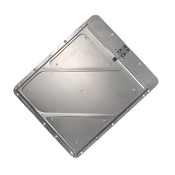 Split Placard Holder for Roll Up Doors