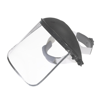Head Gear w/Replaceable Plastic Shield