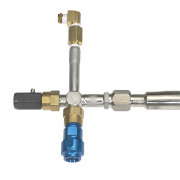 Twin Loc Oxygen Filling Adaptor for Puritan Bennett