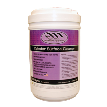 Cylinder Surface Cleaner 2.0   120 Count Wipes