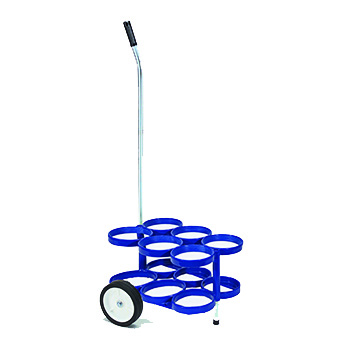 6 D/E Rattle Less Cylinder Cart