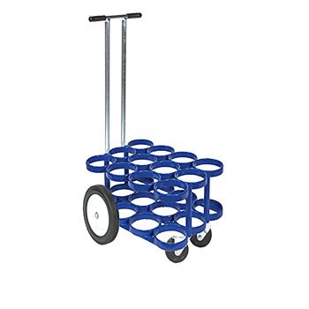 12 M6 Rattle Less Cylinder Cart