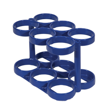 SALE! Rattle Less Rack   Holds 6 M6 Cylinders