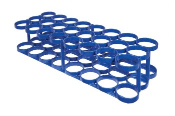 Rattle Less Rack   Holds 24 M6 Cylinders