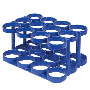 SALE! Rattle Less Rack   Holds 12 M6 Cylinders