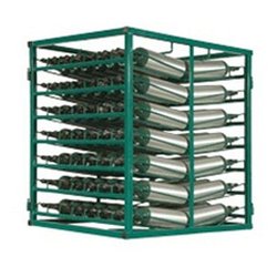 98 M6 Layered Cylinder Rack for Horizontal Storage