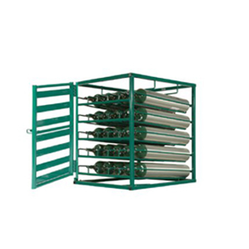 Layered Cylinder Rack for Horizontal Storage 25 C/D/E Cylinders