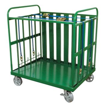 Multi Cylinder Transport Cart   Holds 50 D/E Cylinders