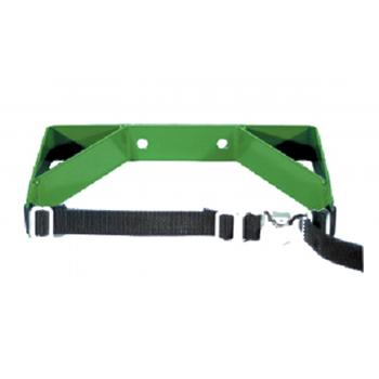 Wall Bracket with Strap   Holds 1 M60/M/H/T Cylinder