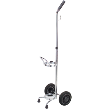 SALE! Qty 4 Cylinder Cart with Adjustable Handle   Holds 1 D/E Cylinder