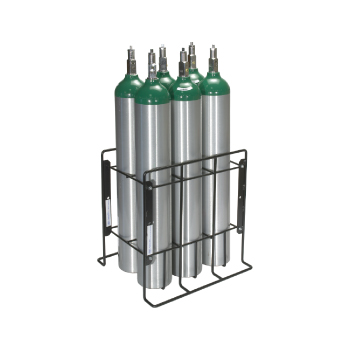 Patient Storage Rack   Holds 6 C/D/E Cylinders