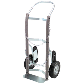 Hand Truck with Rotary Stair Climbers