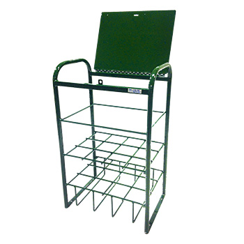 12 D/E Cylinder Stand with Locking Lid