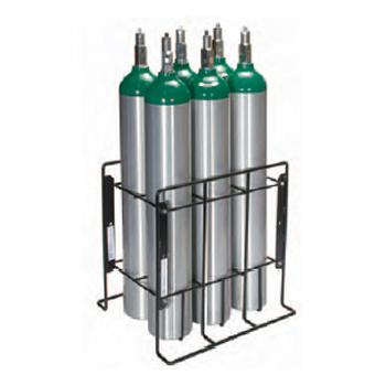 Patient Storage Rack   Holds 12 C, D and E Cylinders