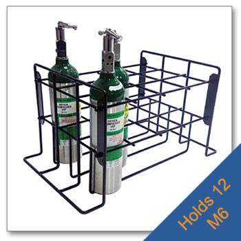 12 M6 Wire Patient Storage Rack