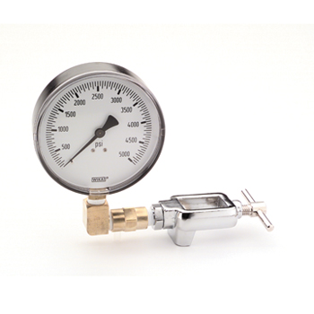 Test Gauge for High Pressure Oxygen 50 psig
