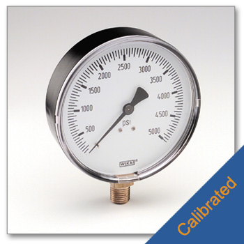Replacement High Pressure Gauge 0 to 5,000 psi (Calibrated)