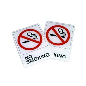 Plastic No Smoking Signs