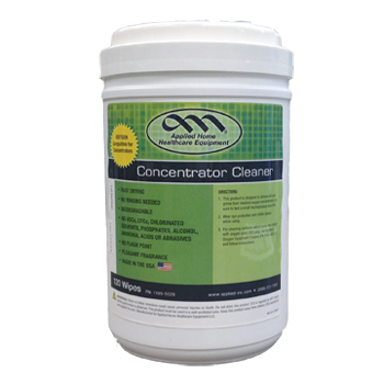 Concentrator Cleaner Wipes