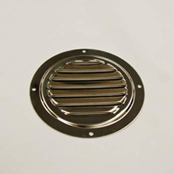 Stainless Steel Round Louvered Vent