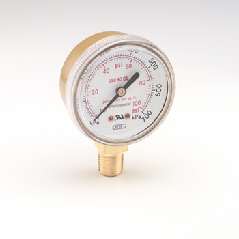 Replacement Low Pressure Gauge 0 to 100 psi