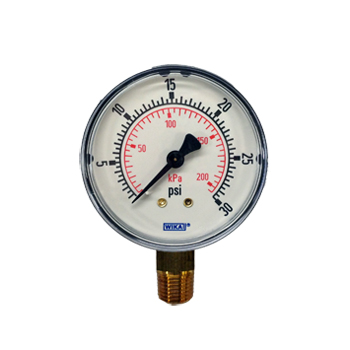 Low Pressure Gauge 2.5 inch Diameter