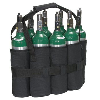 M6 Cylinder Tote Holds 8 Cylinders