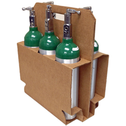 M6 Cylinder Box Carries 6 Cylinders, case of 10 boxes