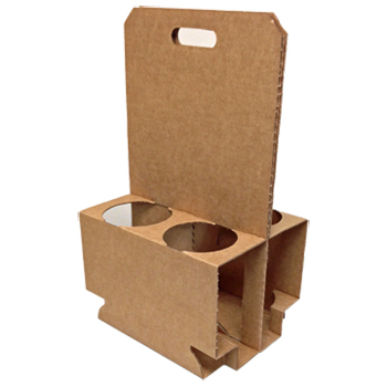 C Cylinder Box Carries 4 Cylinders, case of 10