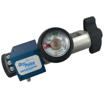 OxyPulse Conserving Regulator