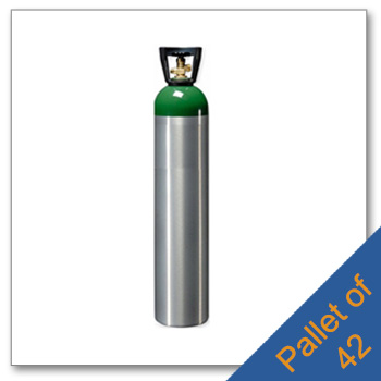 Pallet of M90 Aluminum Cylinders