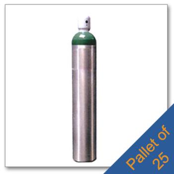 Pallet M 150 Aluminum Cylinders