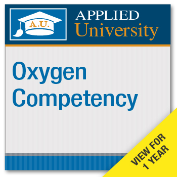 Oxygen Competency Seminar Online On Demand Subscription Class