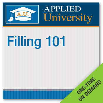 Filling 101 On Demand Class