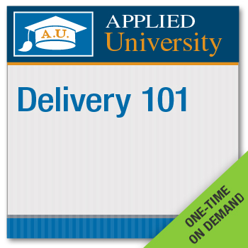 Delivery 101 On Demand Class