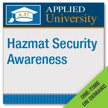 HazMat Security Awareness On Demand Class
