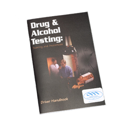 SALE! Drug and Alcohol Testing Driver Handbook in English