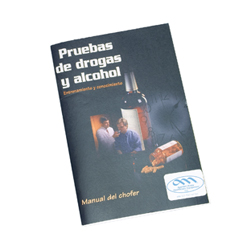 SALE! Drug and Alcohol Testing Driver Handbook in Spanish