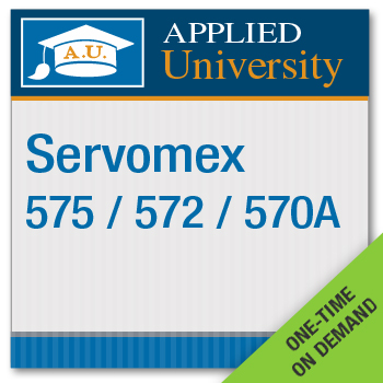 Servomex 575/572/570A On Demand Operator Course
