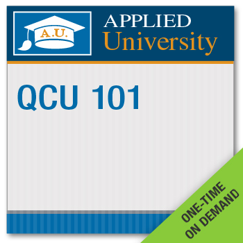 QCU 101 On Demand Class