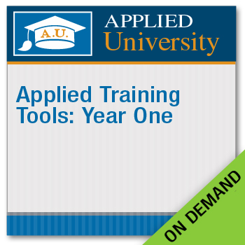 Applied Training Tools: Year One