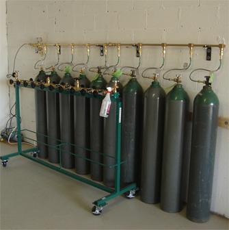 OxySupply Base: 10 Cylinder Supply