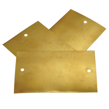 Set of 3 shims for side plate